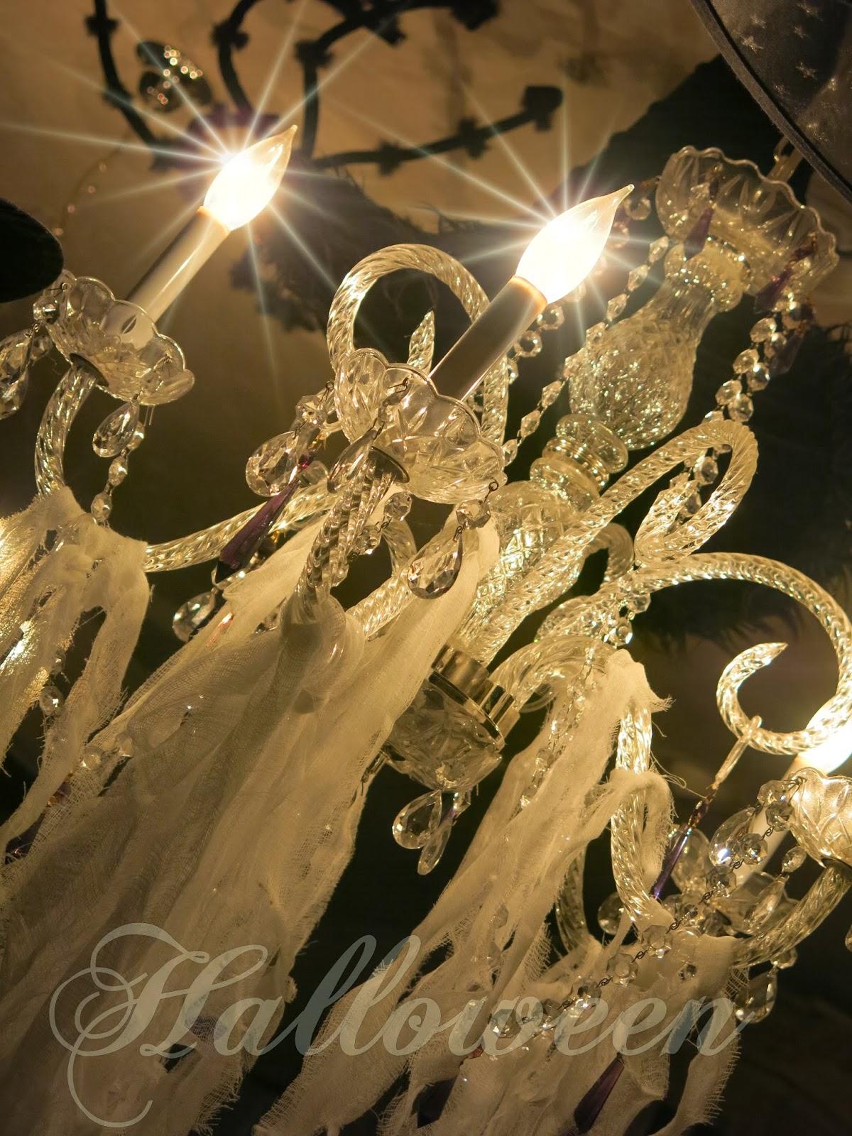 Cobwebs in my chandeliers purple chocolat home cobwebs in my chandeliers arubaitofo Images