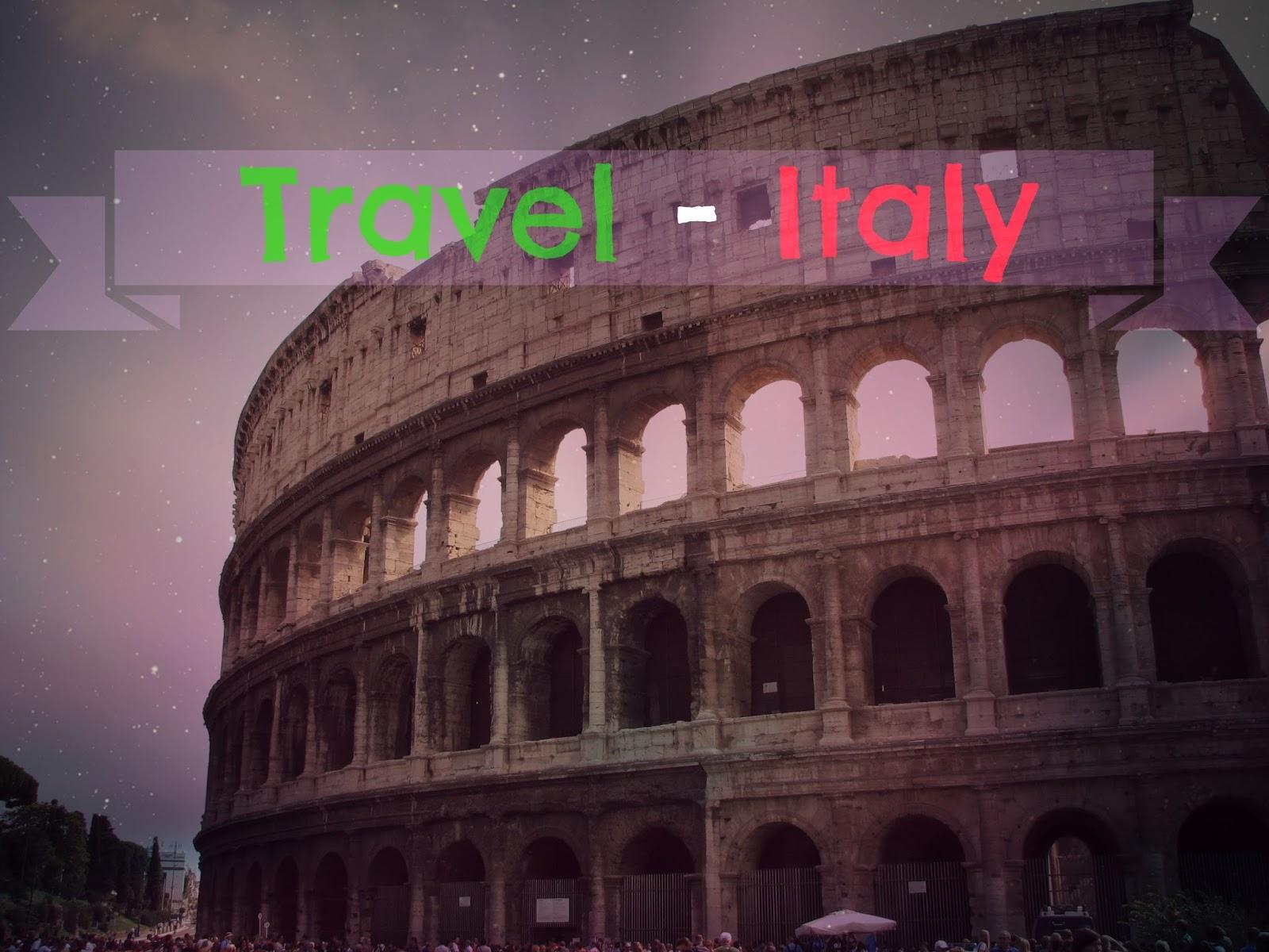 43. Travel - ITALY