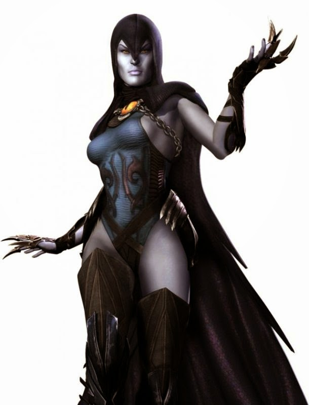 Raven-Injustice: Gods Among Us