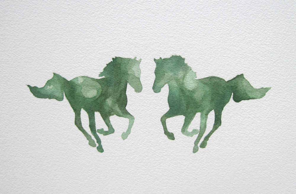 Jade Horses from Cloudery