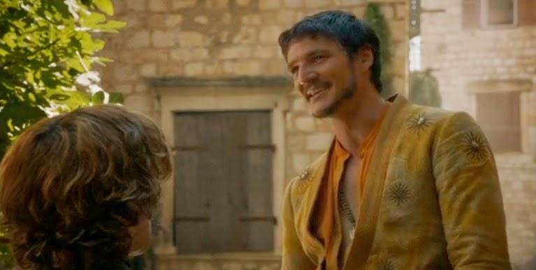 Tyrion y Oberyn 4x01 - Juego de Tronos en los siete reinos