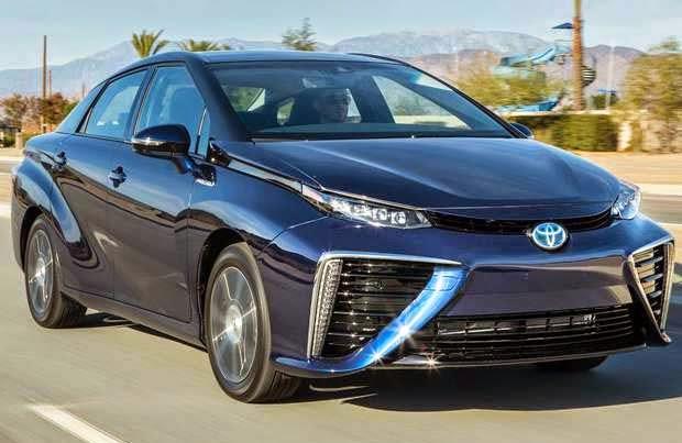 Toyota Mirai Menghasilkan Air Knalpot Steril