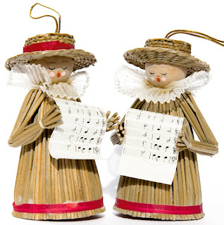Carol singer ornaments