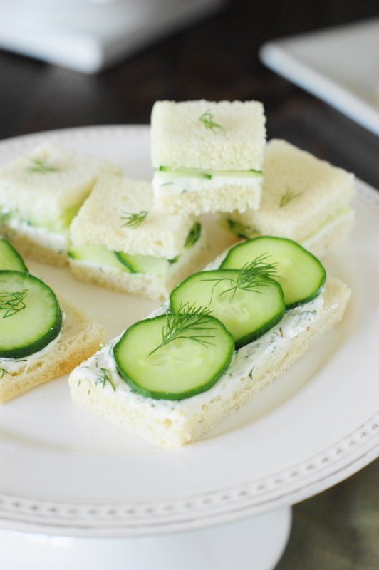 Cucumber Sandwiches III Recipe — Dishmaps