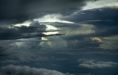 Fotos de Nubes tomada desde el aire