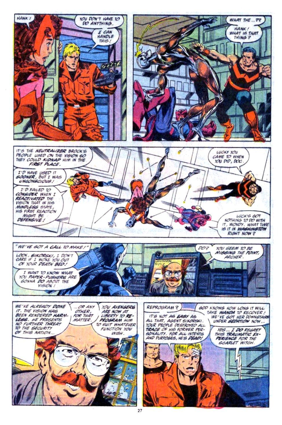 Captain America (1968) Issue #354b #287 - English 21