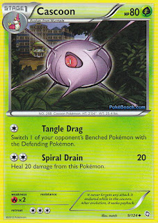 Cascoon Dragons Exalted Pokemon Card