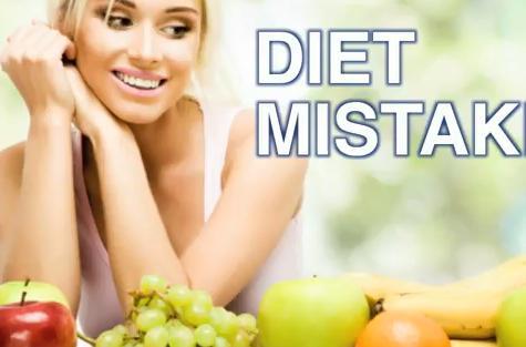 λάθη στη διατροφή