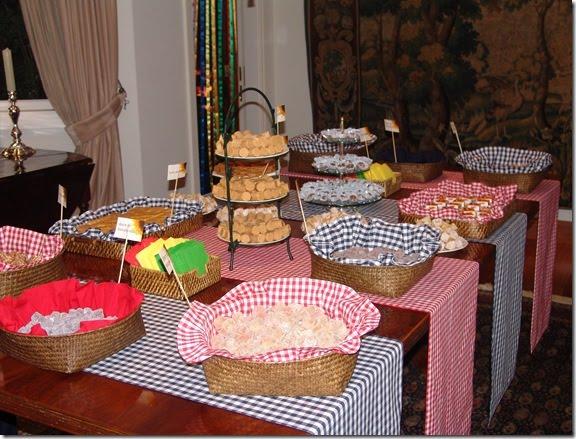 decoracao festa xadrez:Festa, Sabor & Decoração: Idéias de decoração para festa junina