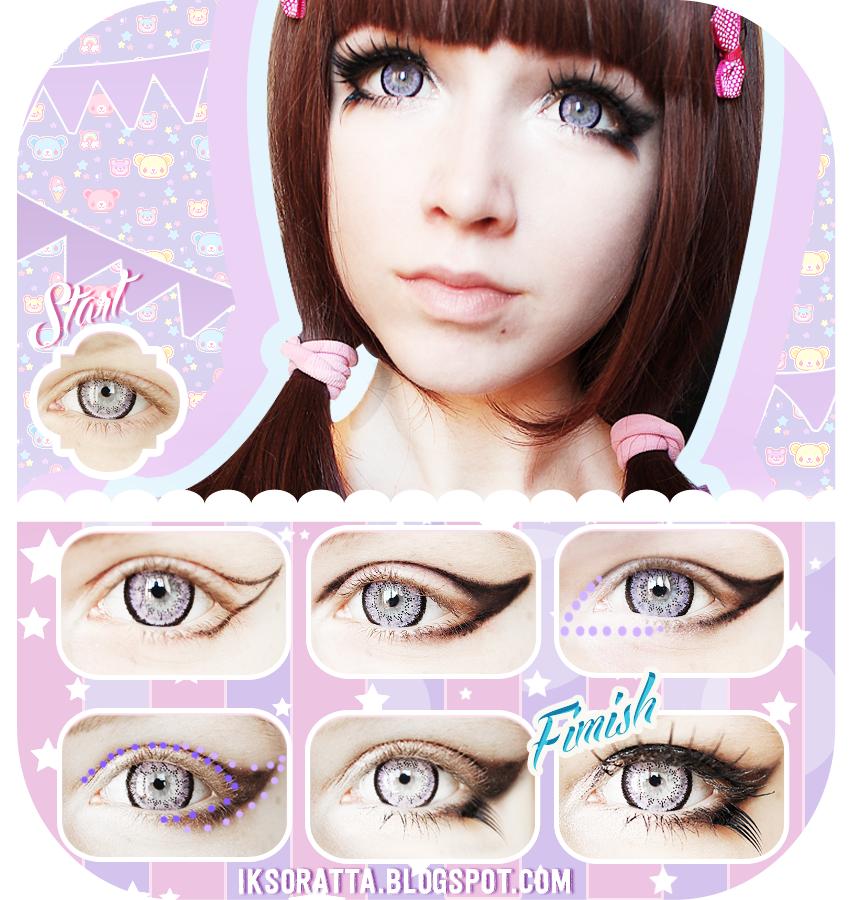 Как сделать макияж кукольных глаз
