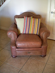 Lexington leather chair...Bob Timberlake Collection...SOLD