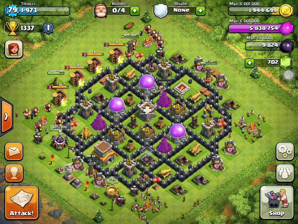 8 town hall level 8 clash of clans support