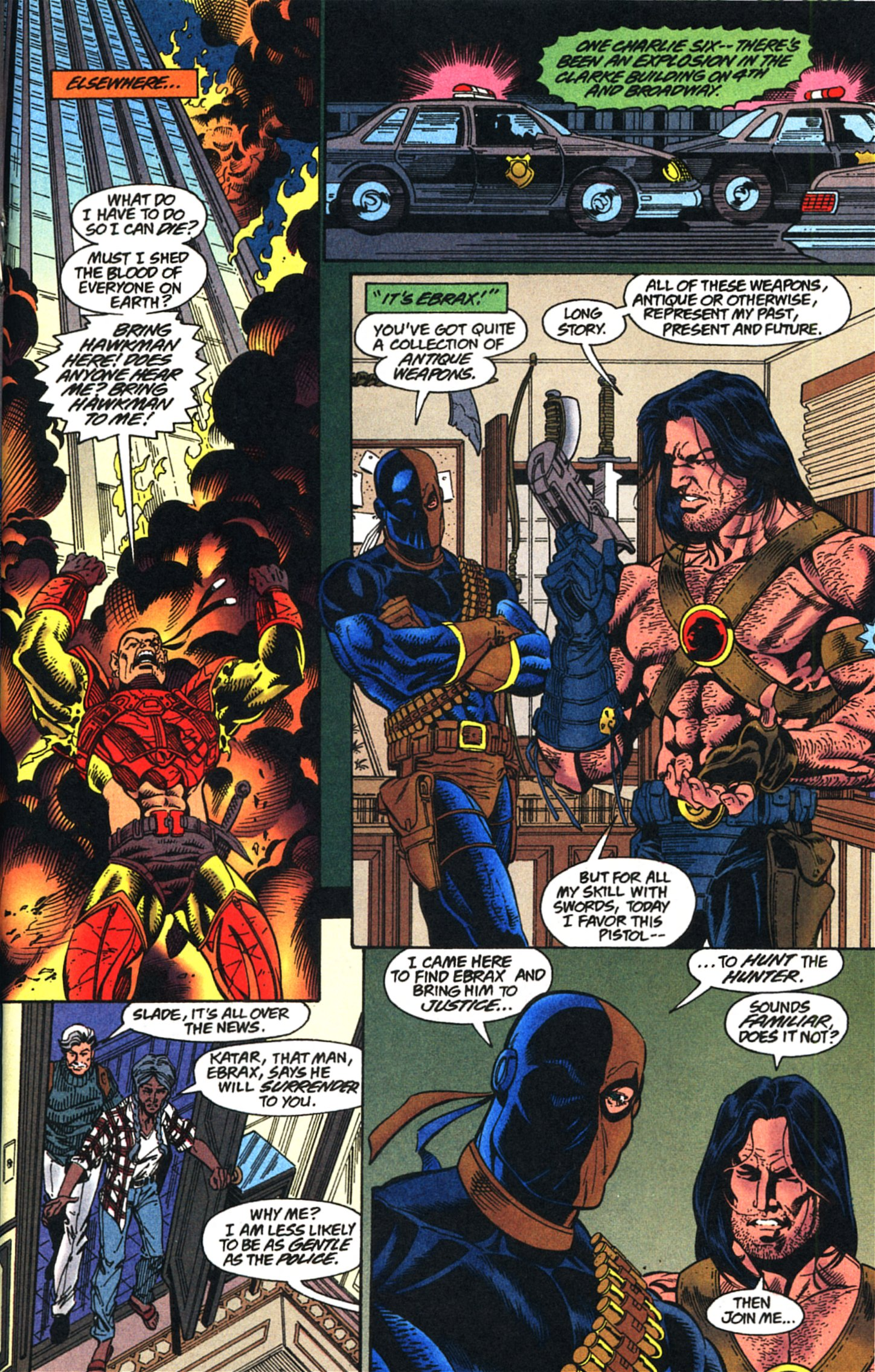 Deathstroke (1991) Issue #52 #57 - English 14