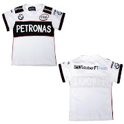 PetronasBMW White Round Neck Shirt. RM35/PCS ONLY!!! SIZE :
