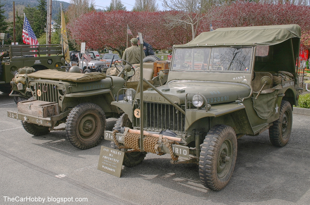 Spotted - 1941 Willys MA Jeep | The Car Hobby