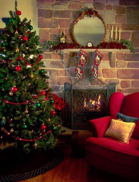 Como preparar la casa para navidad el arbol el pesebre - Decoracion navidad casas ...