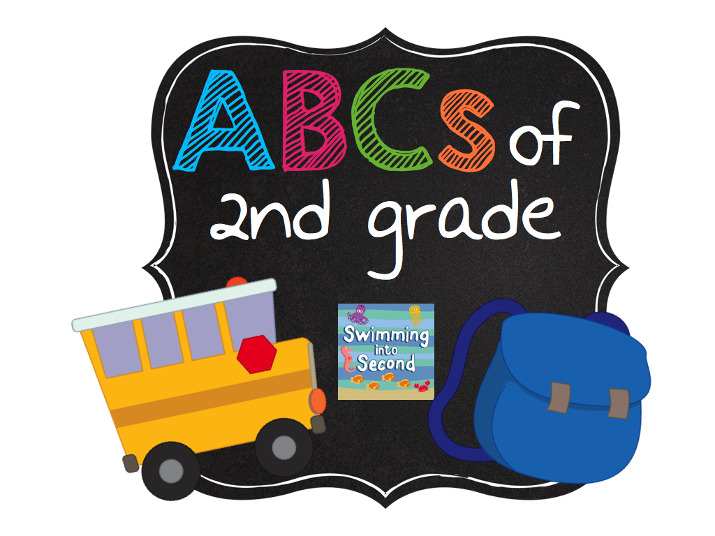 Swimming Into Second: F is for Fact Fluency (ABCs of 2nd grade)