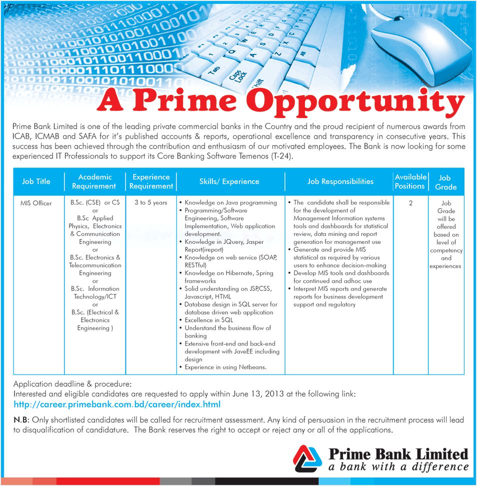 prime bank Read this essay on prime bank come browse our large digital warehouse of free sample essays get the knowledge you need in order to pass your classes and more only at.