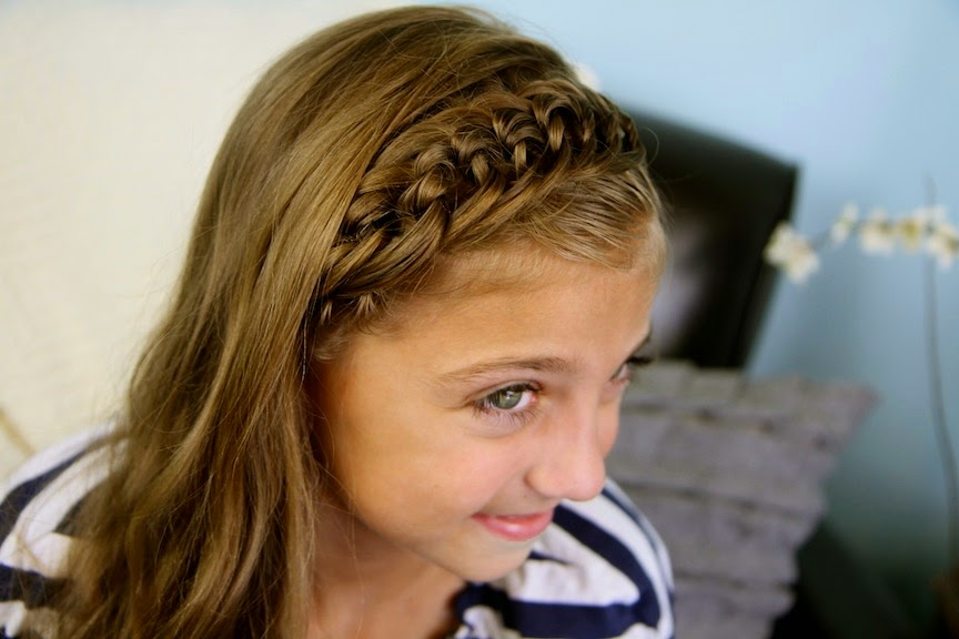smy news: Easy Cute Hairstyle for school