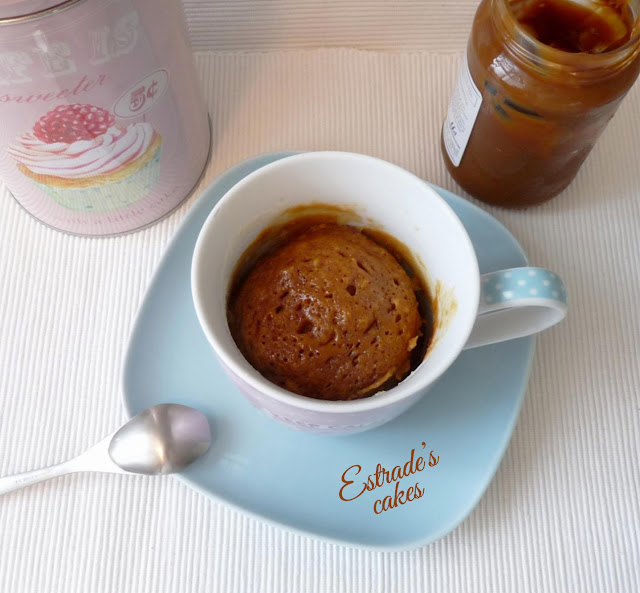 receta de mugcake de dulce leche 2