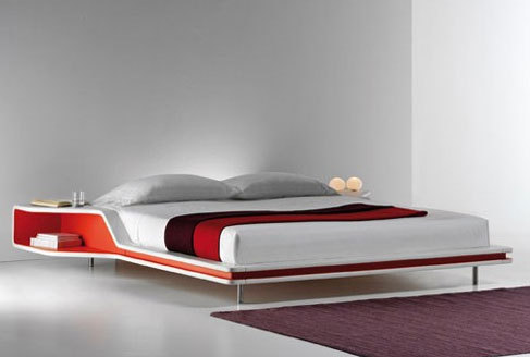 Bed designs in wood for Bed minimalist design