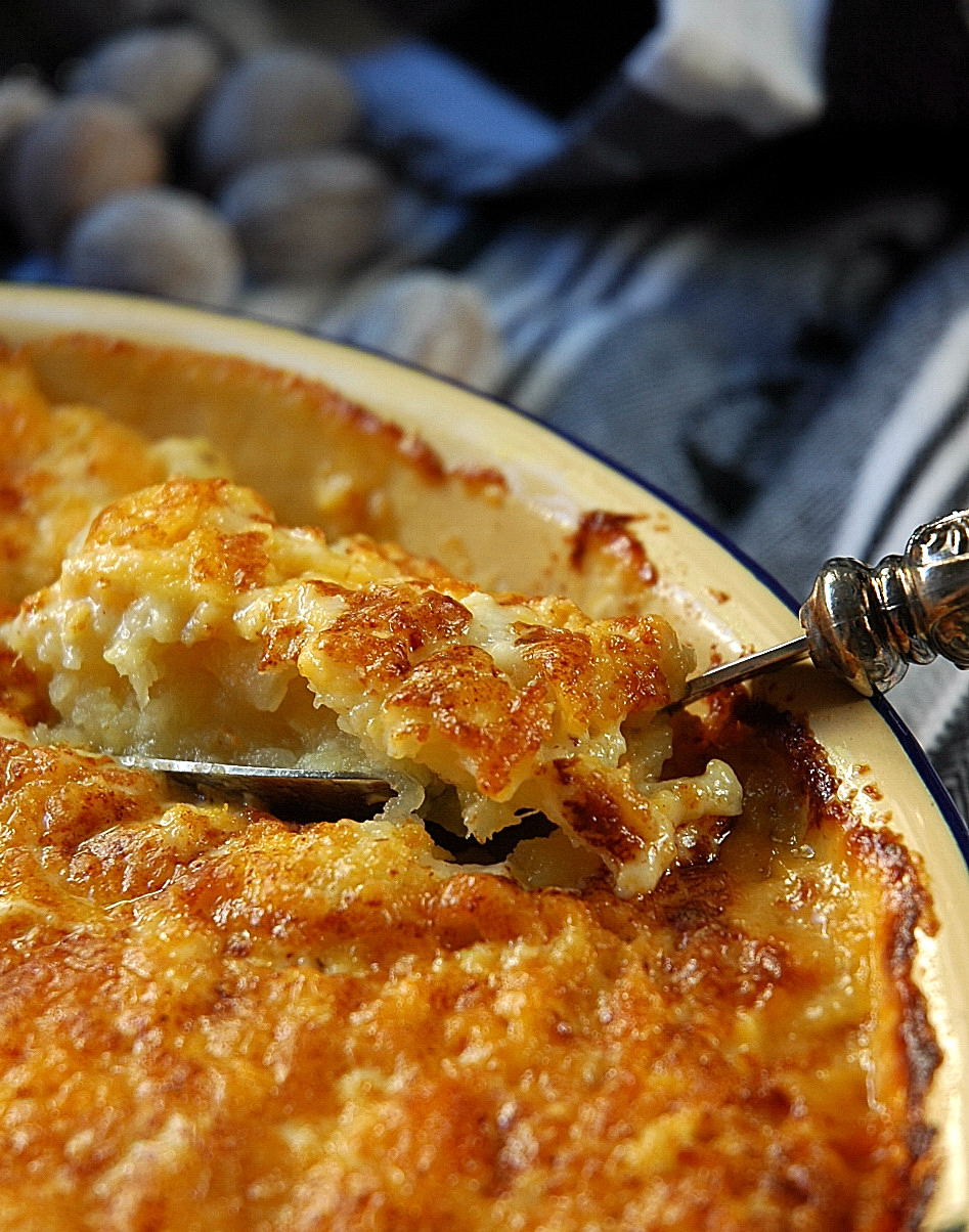 Sweet Potato Gratin - My Easy Cooking