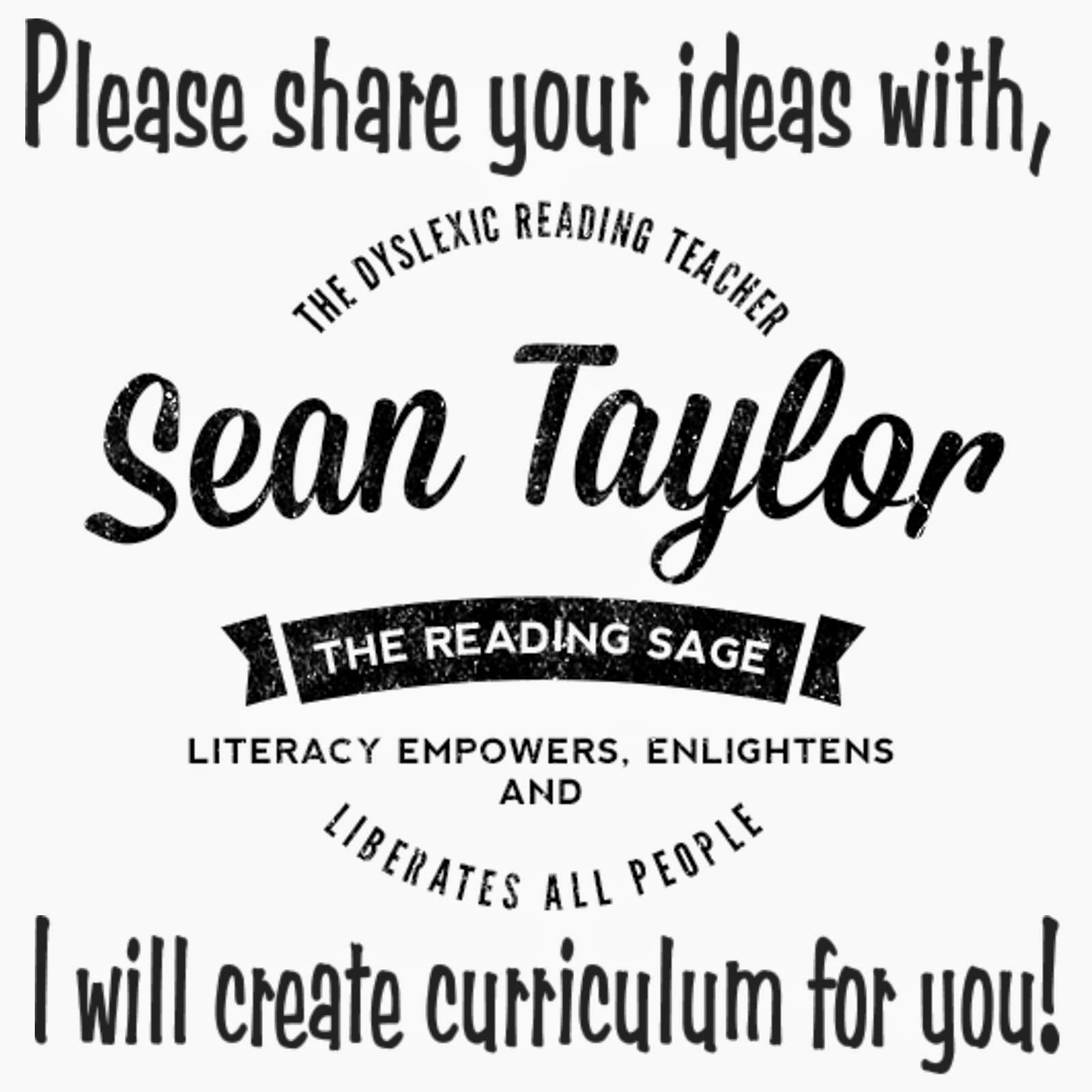 Please Share Your Curriculum Ideas!