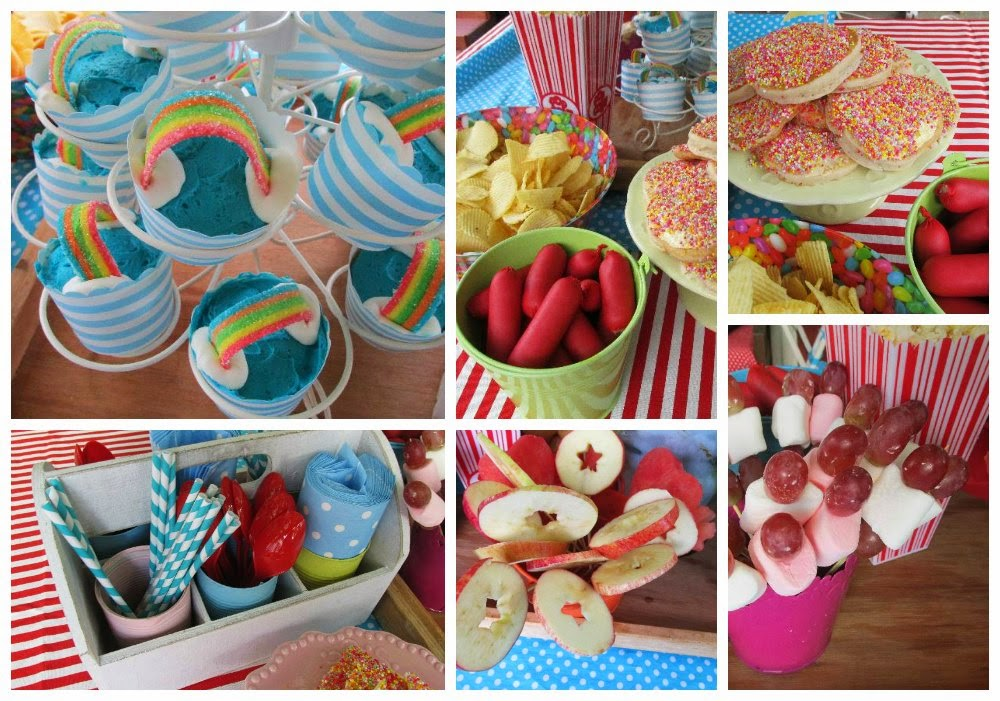 Charming Kids Cocktail Party Ideas Part - 1: We Have All The Party Food Favourites On Offer: Pikelets With Sprinkles,  Red Cocktail Sausages, Chips, Popcorn, Mini Donuts And Fruit Skewers, As  Requested ...