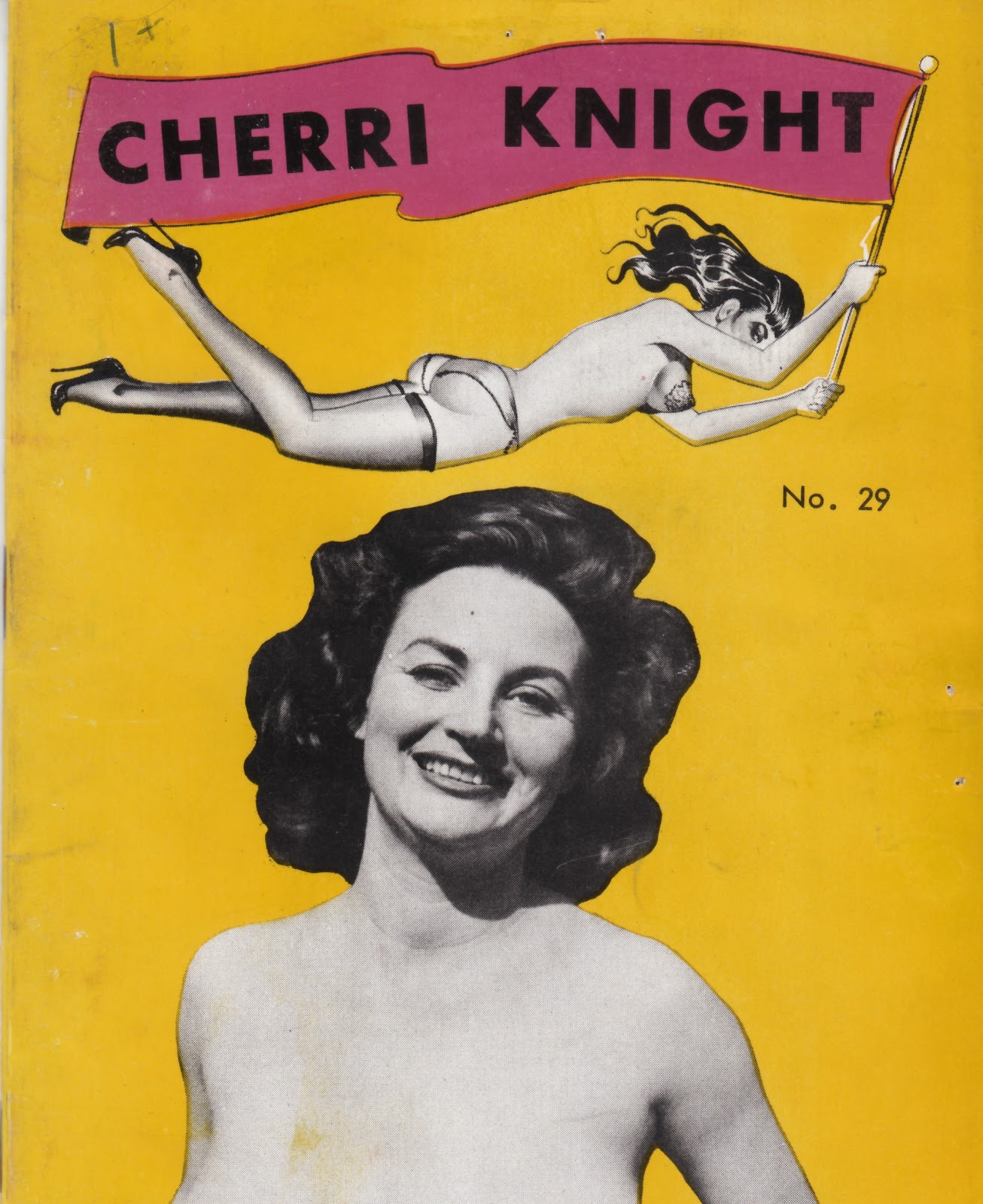 She appears on the cover of her own Proto-Porn booklet in 1959 published by ...