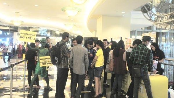 Indosat Gelar Ajang Bursa Gadget