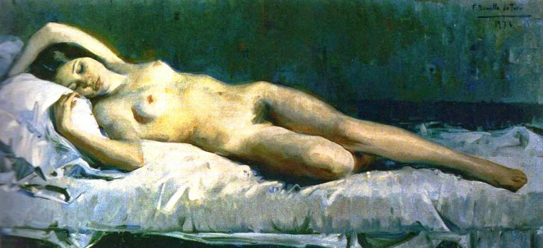 Félix Revello de Toro, Desnudo