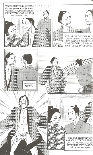the demons sermon on the martial arts a graphic novel