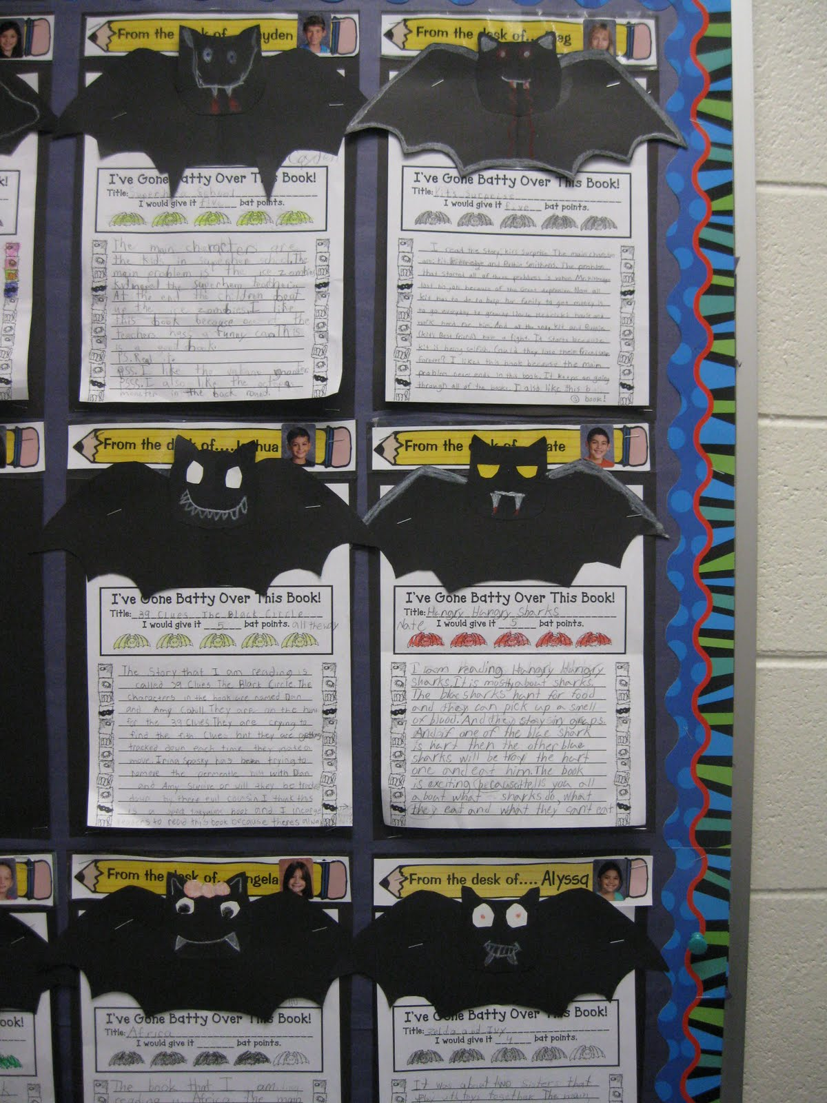 Third Grade Thinkers: Halloween Themed Book Review