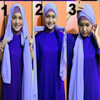 Cara Memakai Jilbab Kreasi Jilbab Pashmina Sifon Terbaru Minggu Ini