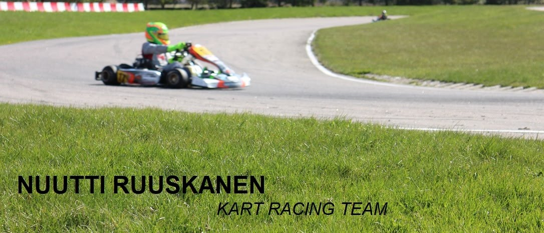 Nuutti Ruuskanen kart racing team