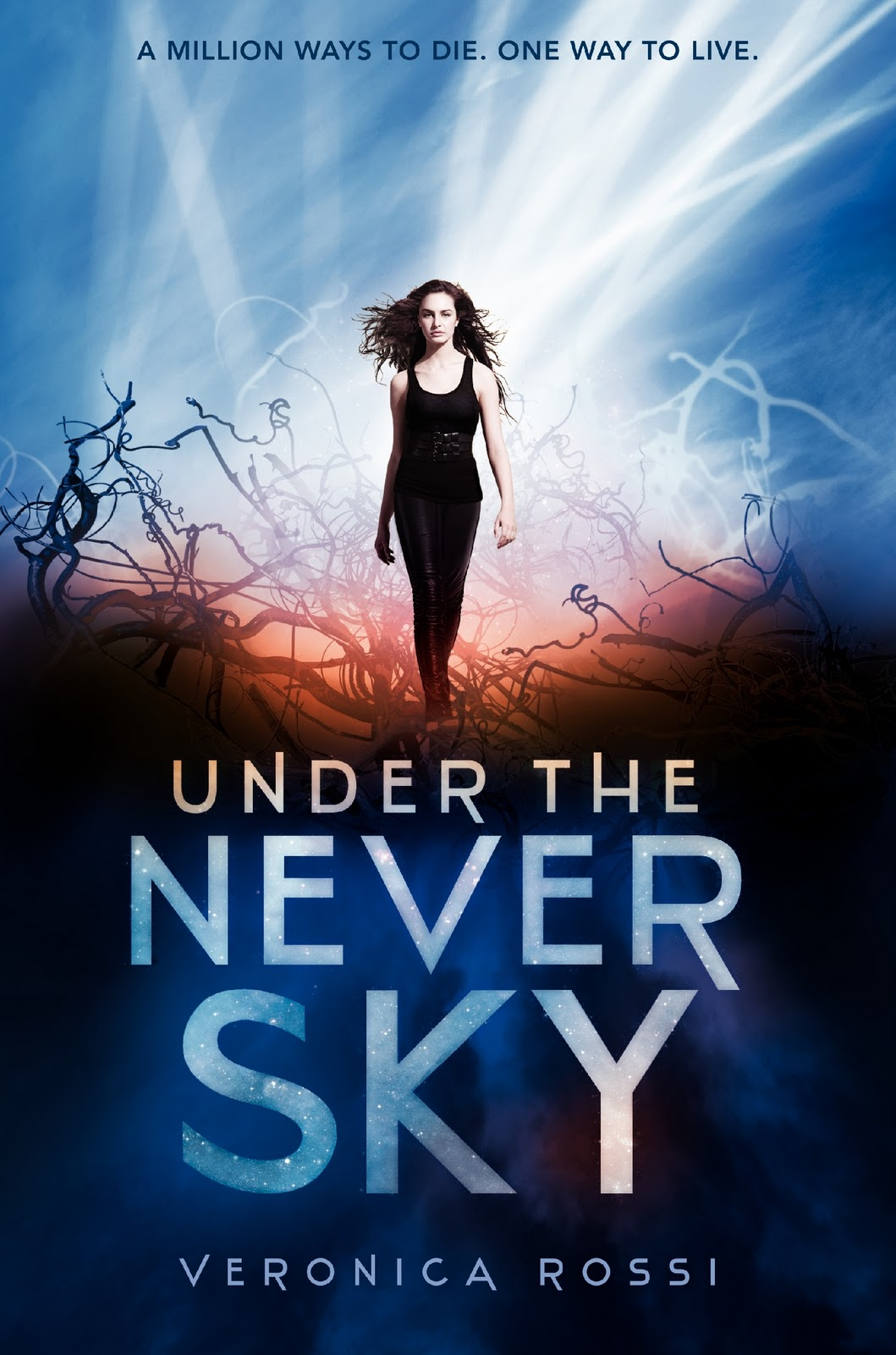 Book Cover Series Review ~ Title under the never sky