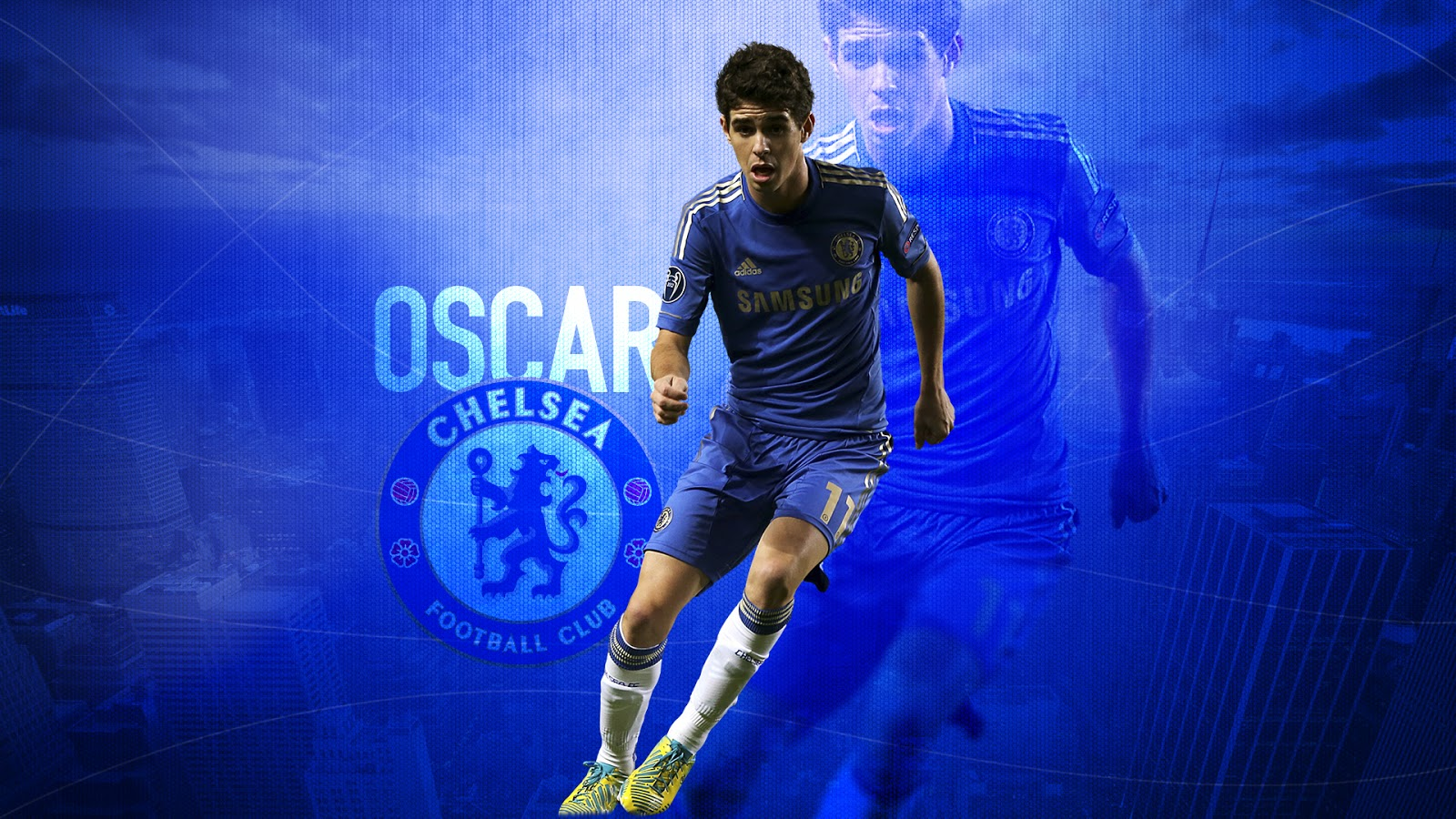 how tall is oscar chelsea