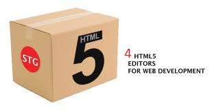 Top 4 html 5 editors