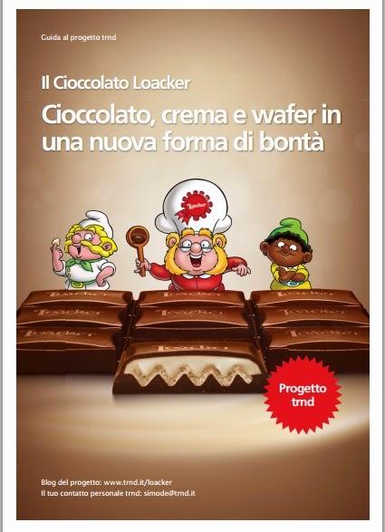 Ambasciatrice Progetto TRND Agente Goloso Cioccolato Loacker