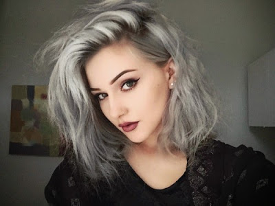 What makeup to use according to the color of hair?Blonde hair Grey hair Black hair Brown hair Red hair