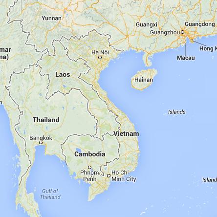 Bản đồ trực tuyến các thành phố Việt Nam