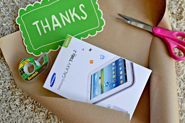Wrapping the Samsung Galaxy Tab 2 from Sam's Club #pixbundle #cbias