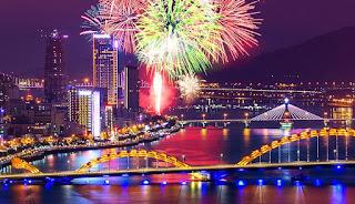 Cho thuê xe ở thành phố Đà Nẵng- lễ hội pháo hoa