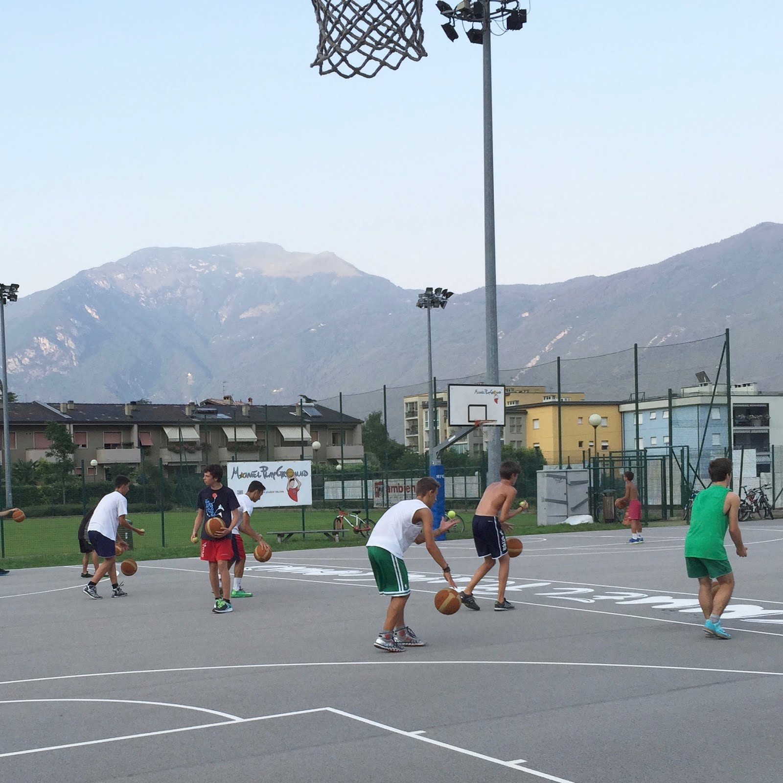Le sequenze iniziali del Manuel PlayGround