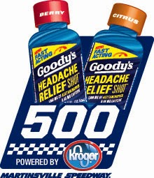 Race 33: Goody's 500 at Martinsville