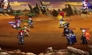 Screenshots of the Heroes Saga English for Android tablet, phone.