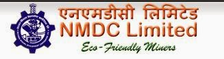 NMDC Recruitment 2014