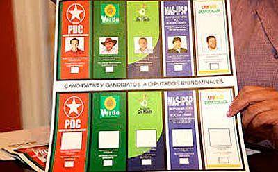 Elecciones presidenciales en Bolivia 2014