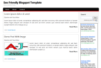 template blogger SEO friendly 2011
