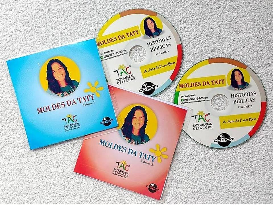 CD's DE MOLDES TATY AMARAL
